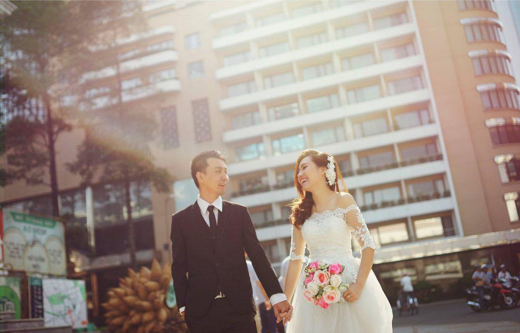 Bí quyết chụp ảnh cưới giá rẻ thành phố Hồ Chí Minh
