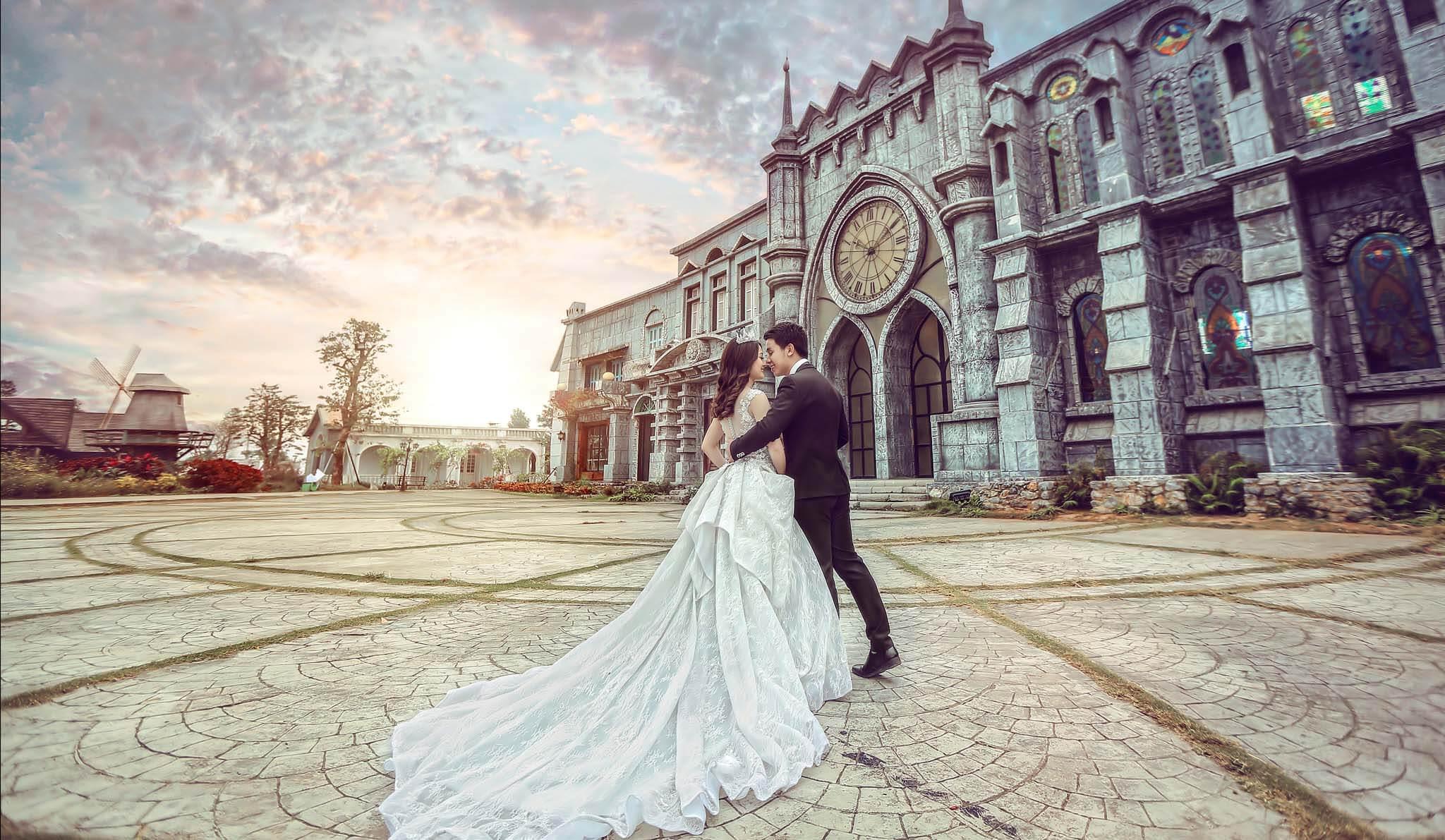 Hãy tham khảo 1 phong cách chụp hình cưới hiện đại mà bạn thích