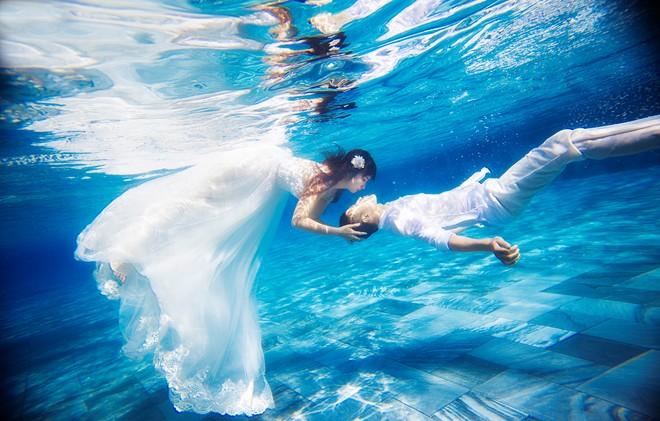 Lưu ý khi chụp hình cưới dưới nước
