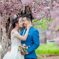Hình cưới tại phim trường Alibaba (Cặp đôi Đức + Trúc )