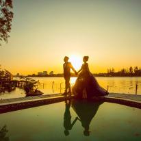 Ảnh cưới Phim trường Alibaba (Cặp đôi Thành + Uyên)
