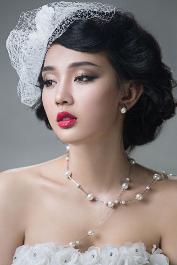 make up cô dâu